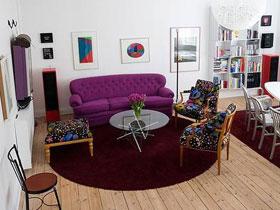 清新與原創兼具的北歐雙層復式公寓