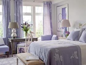 用薰衣草色装饰出甜蜜美丽的家
