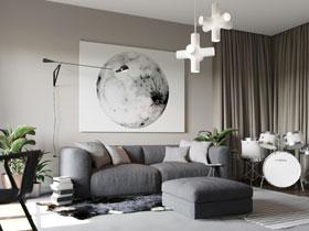 14個現代簡約客廳沙發墻