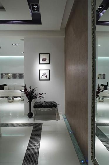 年轻人向的白色现代简约公寓