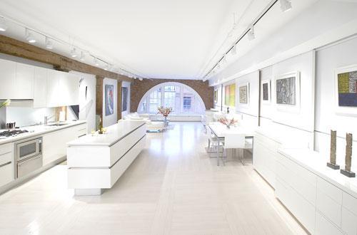 白色主题简约艺术公寓