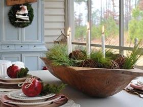 35種圣誕餐桌裝飾