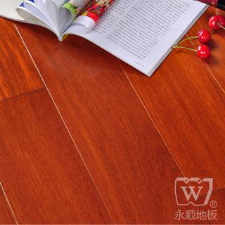 实木地板 实木油漆地板 香二翅豆910*125