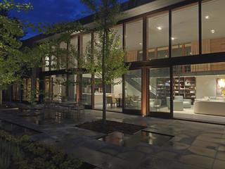 现代艺术花园别墅超现代