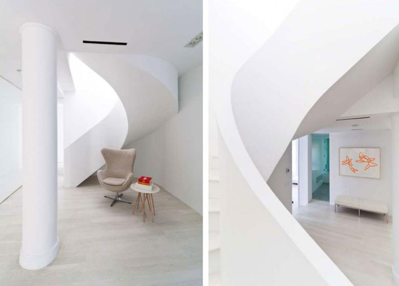 简约风格公寓白色效果图