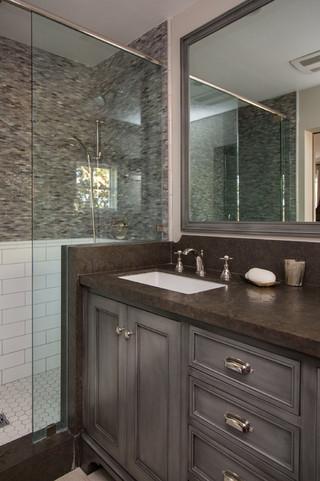 现代公寓另类浴室设计
