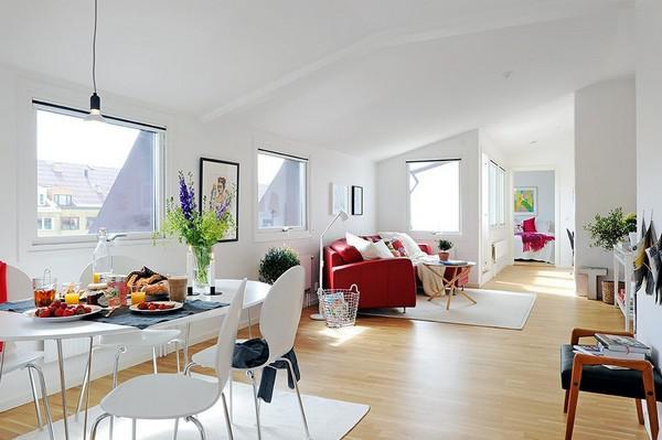 可愛的10平米陽臺 明亮的63平米公寓