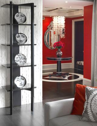 色彩大不同之红色家居设计 提升生活热情