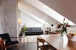 北欧57平米白色主题小户型装修公寓房