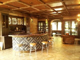 优雅古典的欧式别墅客厅