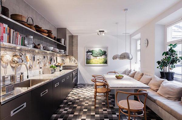 北欧风格别墅奢华厨房装修