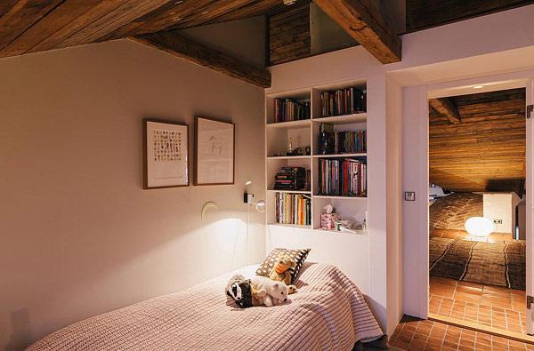 北欧风格别墅奢华小卧室效果图