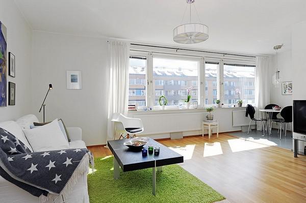 斯德哥尔摩启发性清新小户型公寓