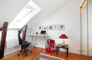 斯德哥尔摩拥有宽敞景观的阁楼公寓