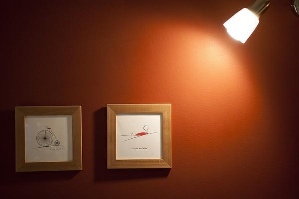 欧式风格小户型时尚卧室灯效果图