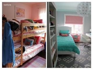 清新可爱的女生卧室