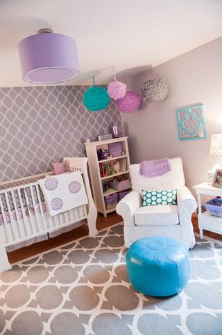 可爱多彩的儿童房