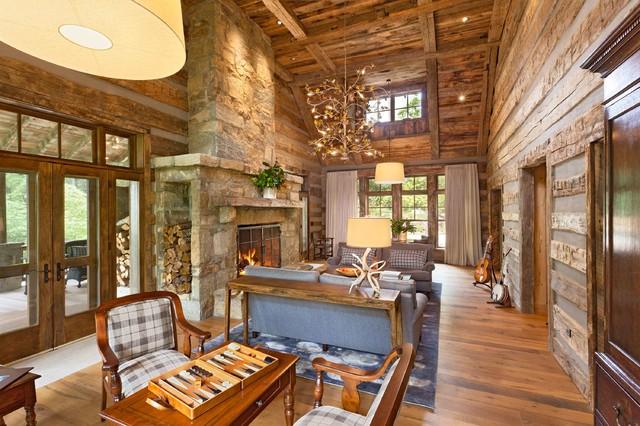 美式乡村风格小别墅 森林里的家