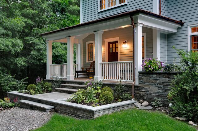 现代美式风格2013年别墅舒适私家庭院装修图片