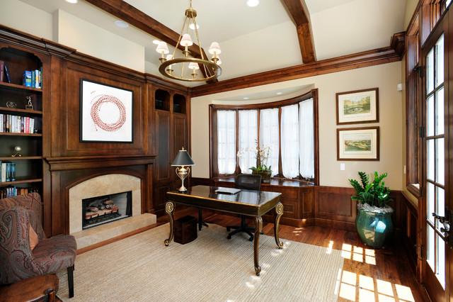 家居美图 美式 书房 共127 张图片  0 美式风格客厅单身公寓设计图图片
