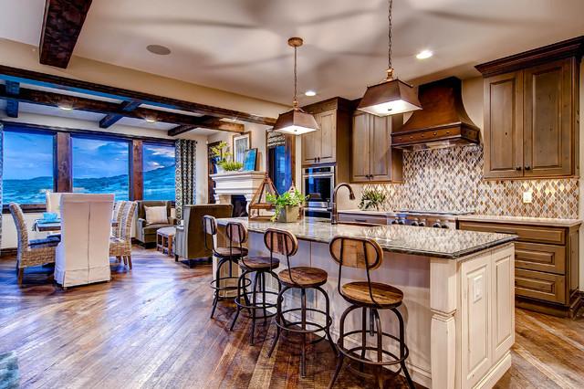 欧式素材客厅三层半装潢实用餐厅和厨房风格别墅v素材玻璃窗别墅图片