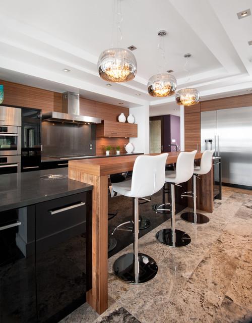三居室装修效果图欧式风格室内效果图家庭吧台装修