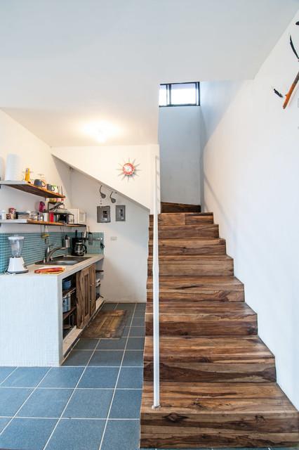 美式乡村风格客厅一层别墅及实用卧室大厅楼梯设计图纸图片