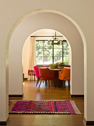地中海风格白色基调的别墅装修