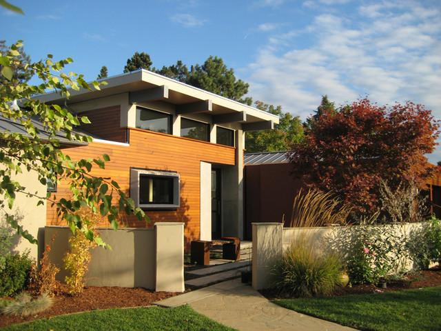 现代简约风格厨房三层半别墅实用客厅入户花园设计图图片