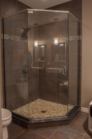 现代简约风格2014年别墅现代简洁整体淋浴房图片