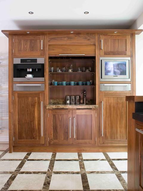 原木橱柜的另类设计