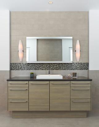 混搭风格客厅2013年别墅简单实用品牌浴室柜效果图
