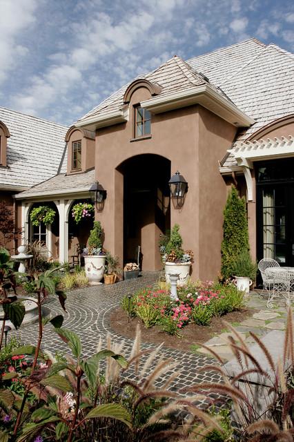 现代简约风格三层小别墅时尚花园洋房设计