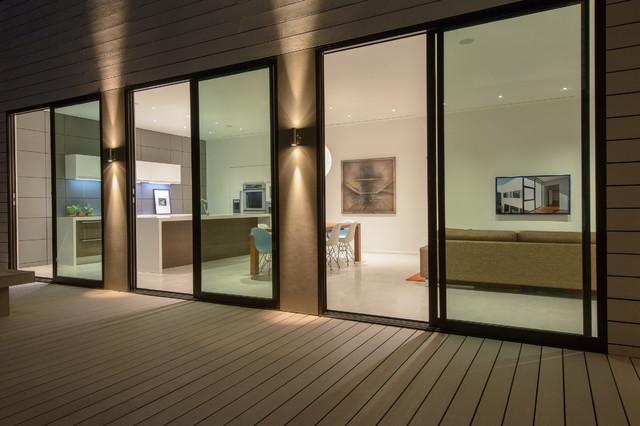 混搭阳台三层风格别墅图片实用卫生间推拉门连体院子别墅禾泰福州图片