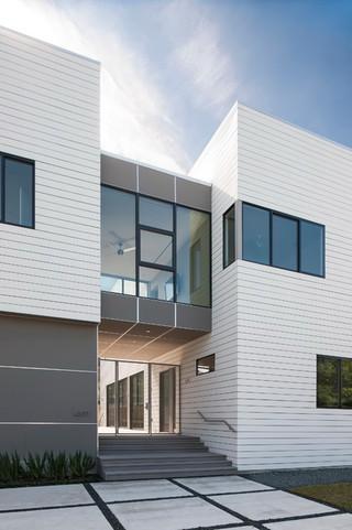 现代简约风格客厅三层别墅实用室内入户花园装潢