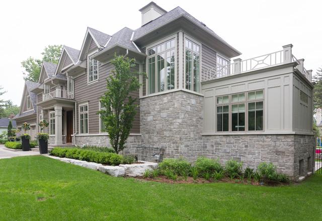 现代简约风格卫生间三层别墅及简洁花园洋房装修