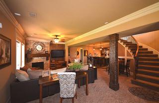 现代简约风格卧室一层半别墅舒适室内装修楼梯设计