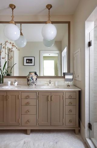 现代简约风格餐厅一层别墅及舒适品牌浴室柜效果图