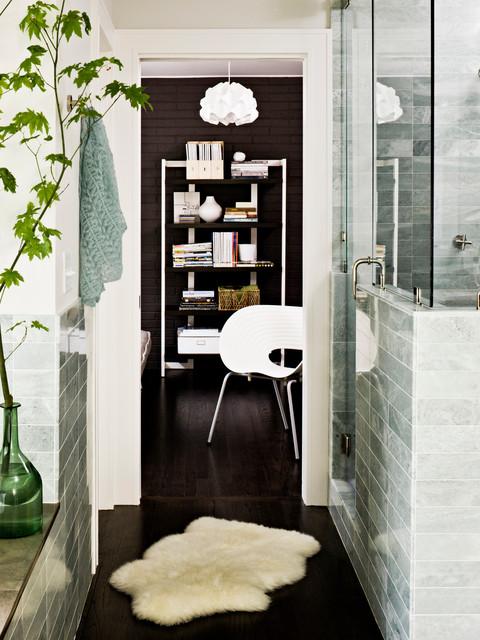 现代简约风格厨房三层别墅简单实用2013书房装修图片