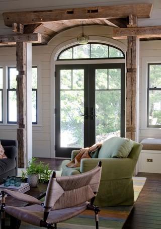 现代简约风格300平别墅实用卧室2012客厅装修效果图