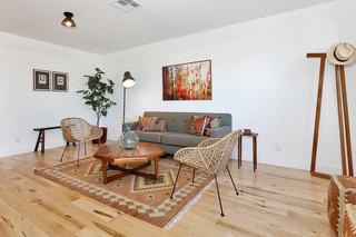 现代简约风格卧室2013年别墅简单实用15平米客厅装修效果图