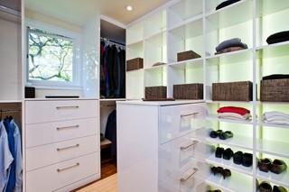 现代简约风格卫生间三层半别墅实用卧室阁楼衣帽间设计图纸