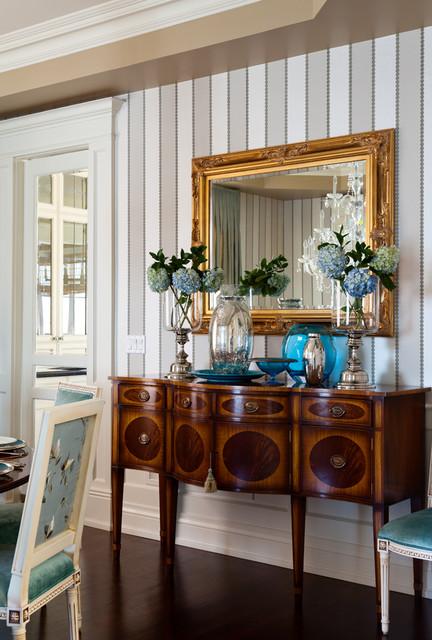 欧式风格客厅3层别墅舒适中式电视背景墙设计图