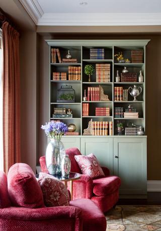 欧式风格卧室一层半别墅舒适品牌贵妃沙发图片