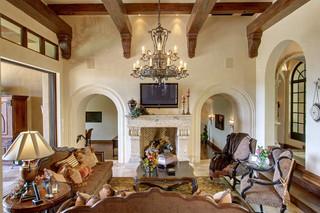 现代简约风格卫生间3层别墅唯美室外灯具图片