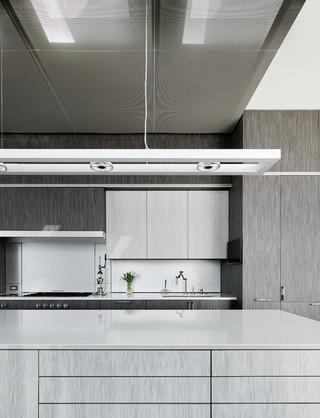现代简约风格客厅一层别墅及乐活橱柜效果图