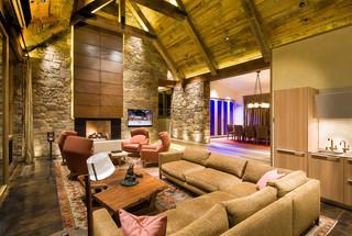 现代简约风格卫生间2层别墅现代时尚客厅品牌布艺沙发效果图