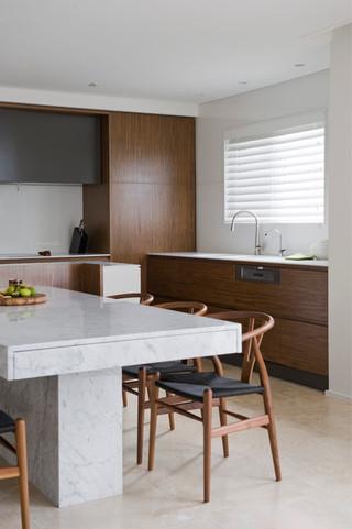 现代简约风格客厅三层小别墅现代时尚吧台装修效果图