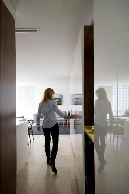 现代简约风格3层别墅时尚家居欧式过道吊顶设计图纸
