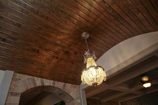 现代欧式风格三层连体别墅时尚衣柜别墅吊顶设计图